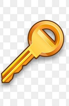 pngtree golden key isolated illustration vector png image 2377736